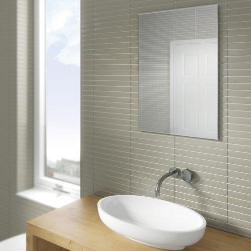 HIB Joshua Rectangular Mirror - 61701500 profile large image view 2