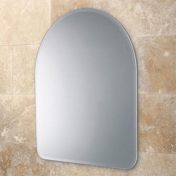 HIB Tara Arched Bathroom Mirror - 61883000 Large Image