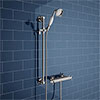 Chatsworth Traditional Crosshead Shower Bar Valve + Slider Rail Kit profile small image view 1