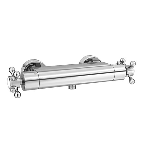 Chatsworth Traditional Crosshead Bottom Outlet Thermostatic Bar Shower Valve