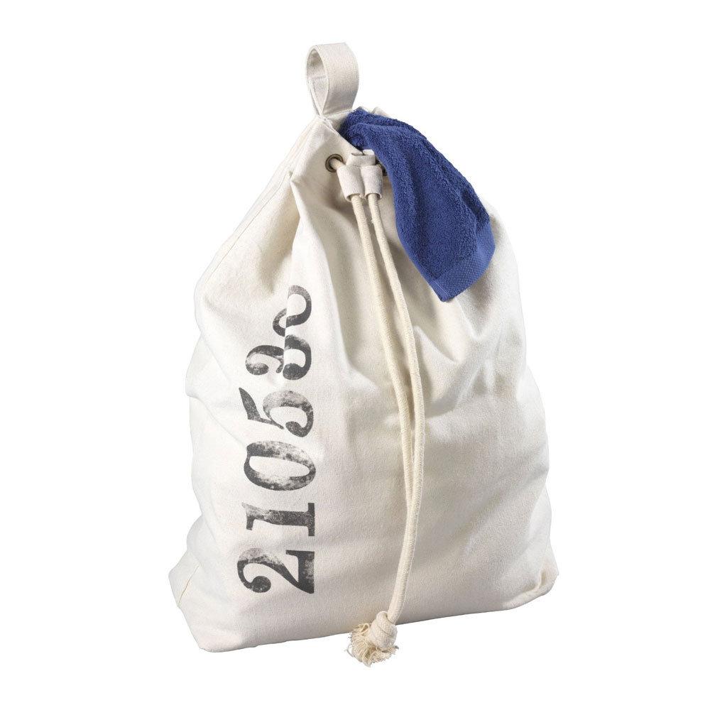 Wenko Sailor Laundry Bag - Beige - 62040100 profile large image view 2