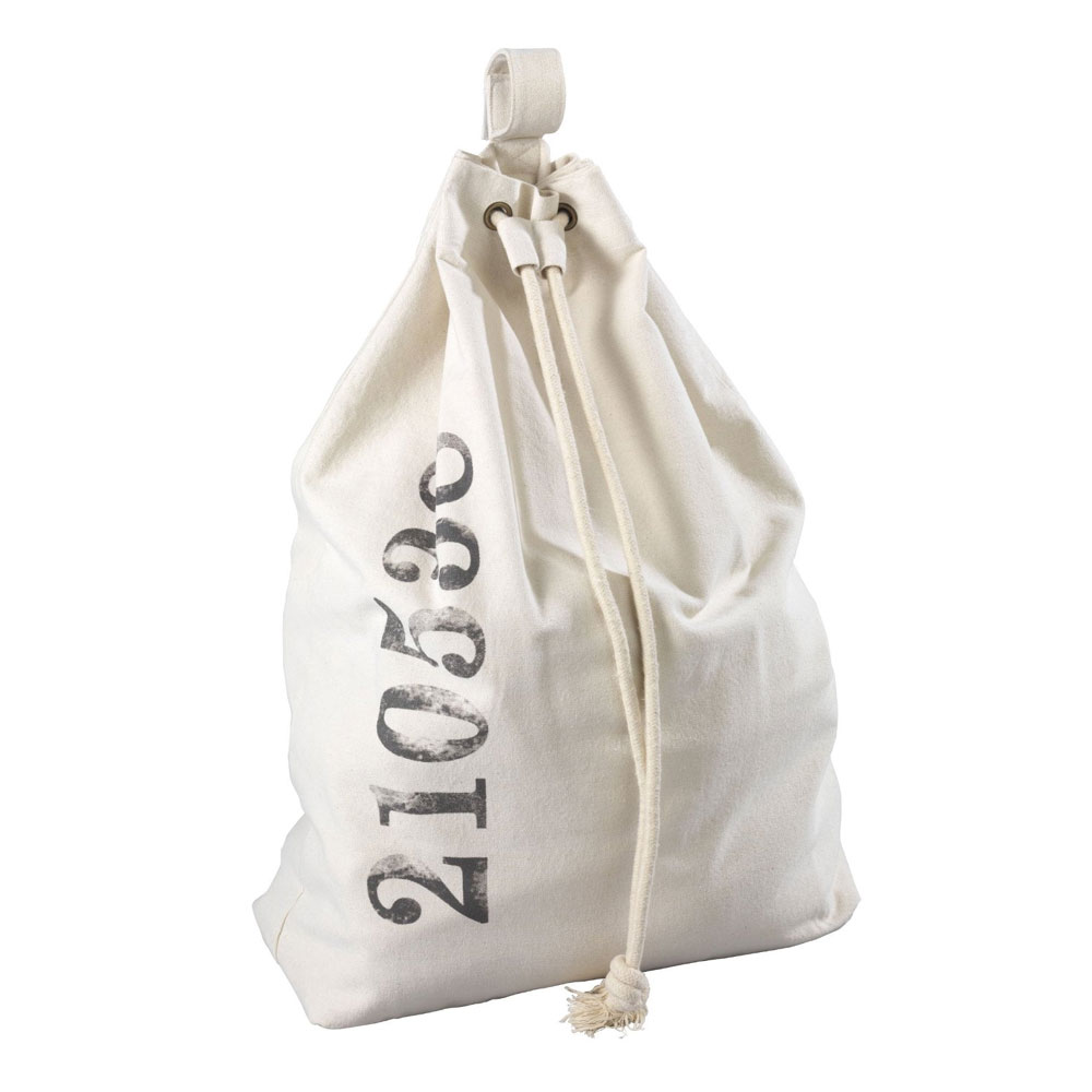 Wenko Sailor Laundry Bag - Beige - 62040100 profile large image view 1