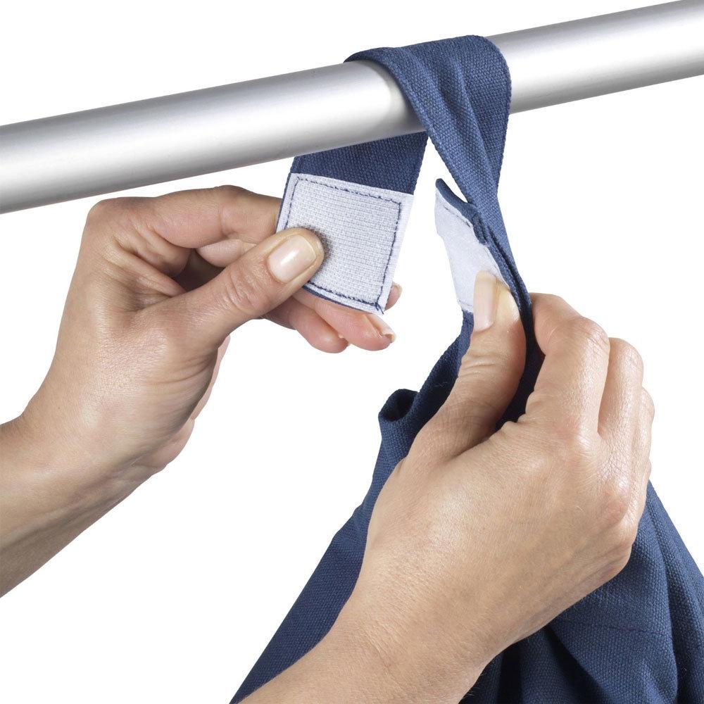 Wenko Sailor Laundry Bag - Blue - 62041100 Standard Large Image