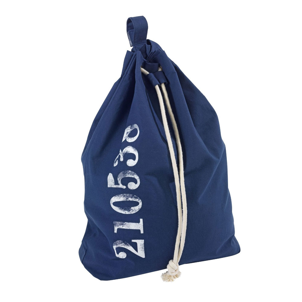 Wenko Sailor Laundry Bag - Blue - 62041100 Large Image