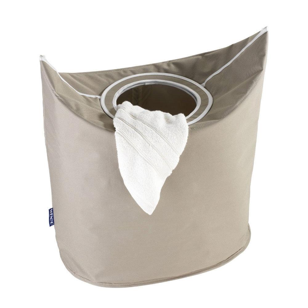 Wenko donkey laundry bin now online at victorian for Beige bathroom bin
