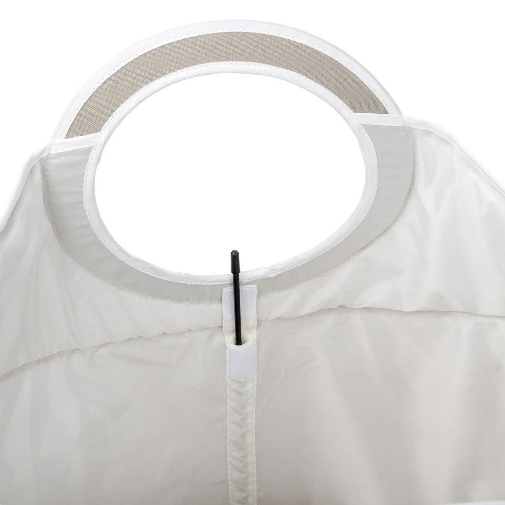 Wenko Donkey Laundry Bin - Beige - 62072100 Standard Large Image