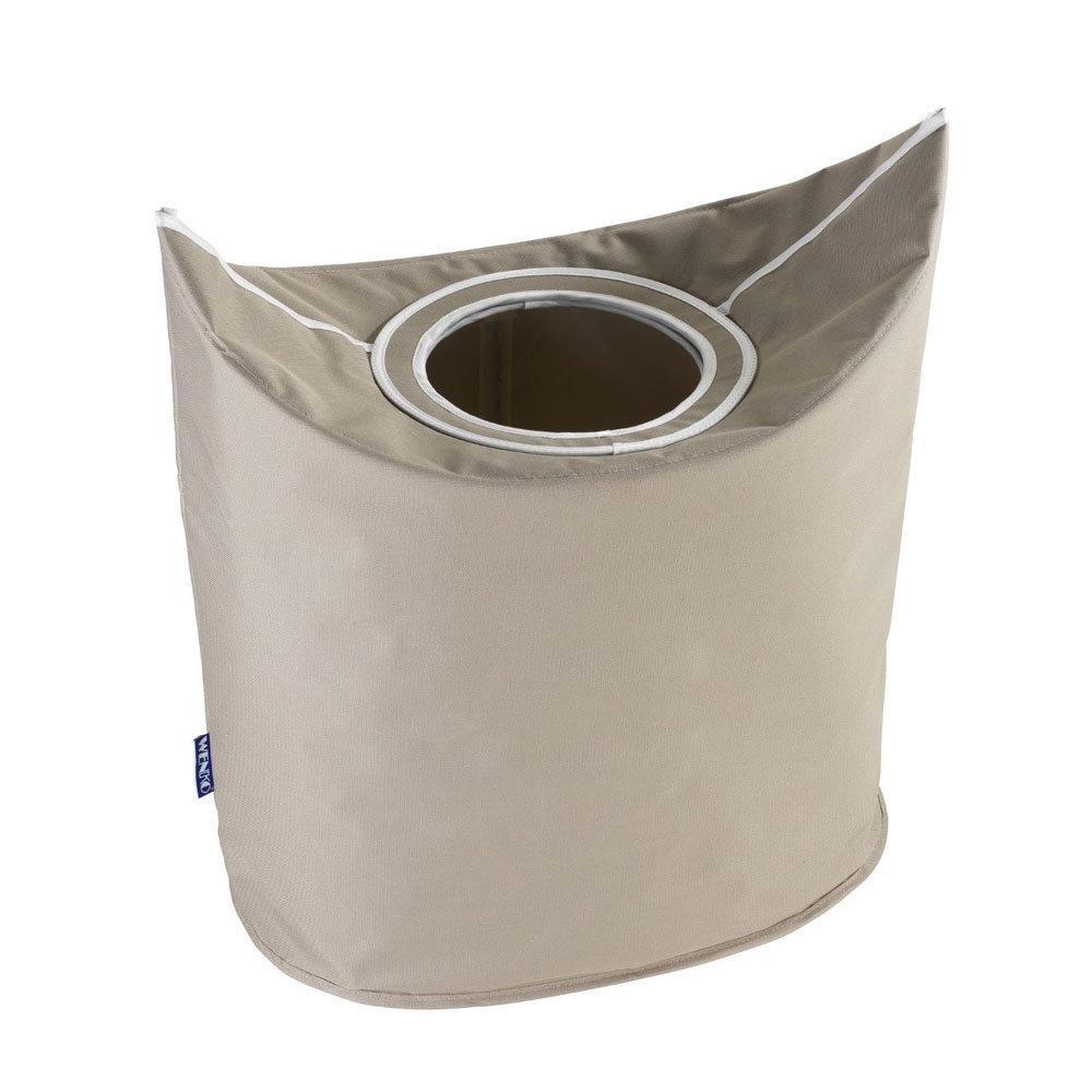Wenko Donkey Laundry Bin - Beige - 62072100 Large Image