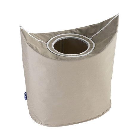 Wenko Donkey Laundry Bin - Beige - 62072100
