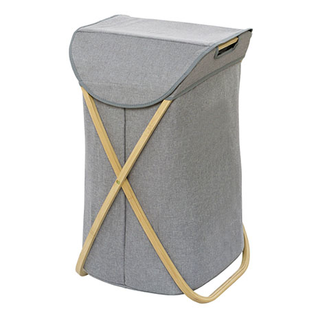 Wenko Bahari Bamboo Foldable Laundry Bin - 62211100
