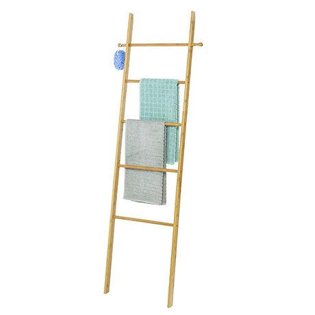 Wenko Bahari Bamboo Towel Ladder - 62215100
