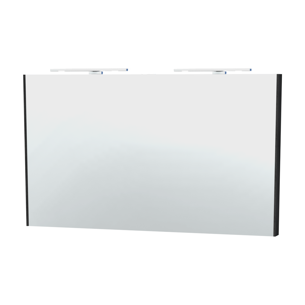 Miller - London 120 Mirror - Black - 63-4 Large Image