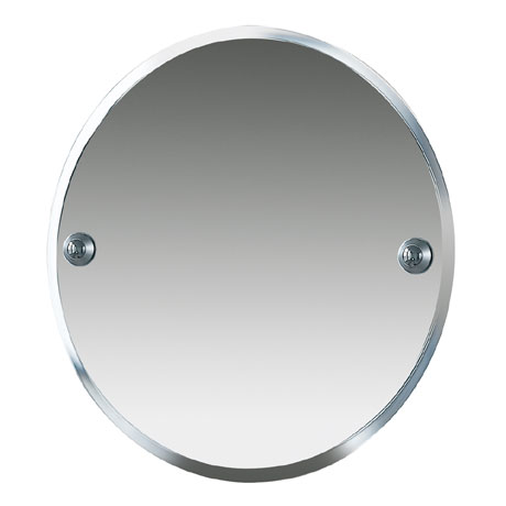 Miller - Metro 450mm Round Bevelled Wall Mirror - 6300C-S