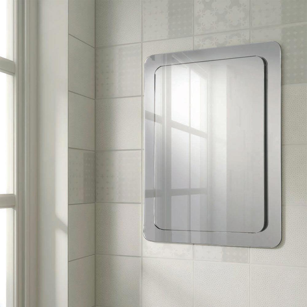 HIB Abbi Bathroom Mirror - 76600000  Profile Large Image