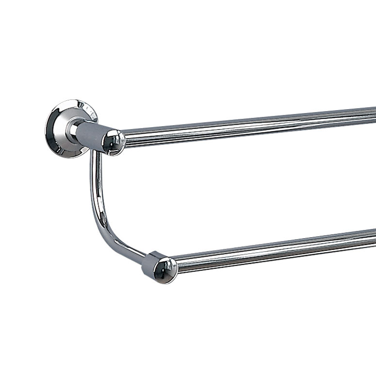 Miller - Metro Double Towel Rail - 6327C-S Large Image
