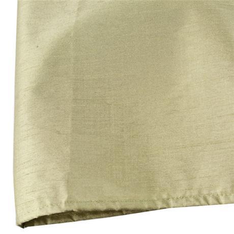 Faux Silk Shower Curtain W1800 x H1800mm w/ 12 Curtain Rings - Sage - 63600