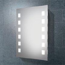 HIB Halifax Fluorescent Illuminated Mirror - 64123095 Medium Image