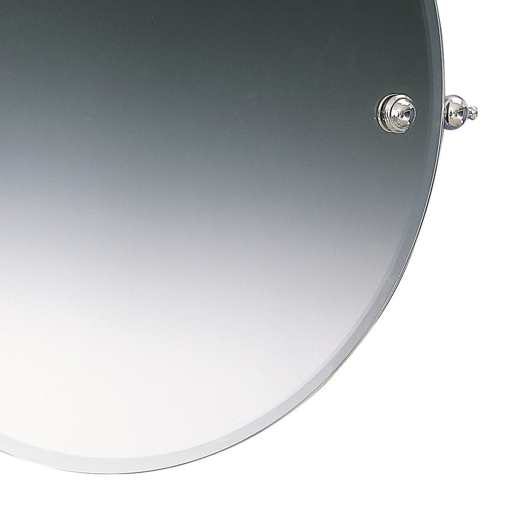 Miller - Stockholm 450mm Round Bevelled Swivel Mirror - 641C Feature Large Image