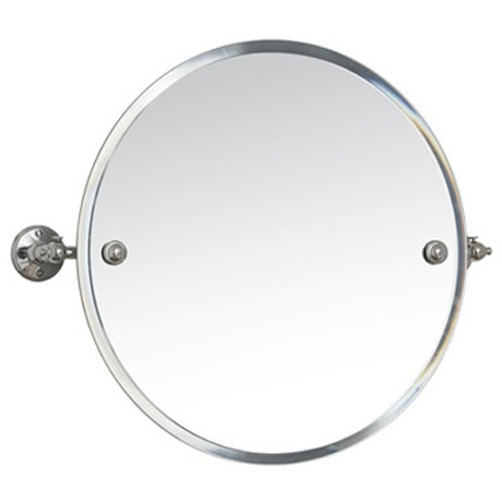 Miller - Stockholm 450mm Round Bevelled Swivel Mirror - 641C Large Image