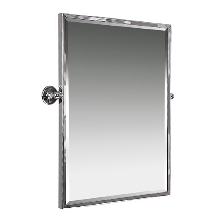 Miller - Classic 545 x 610mm Framed Bevelled Swivel Mirror - 642C