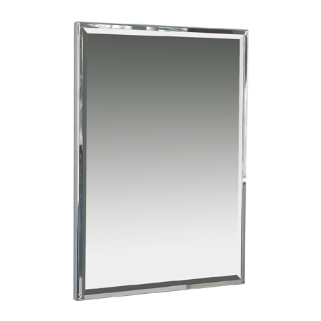 Miller - Classic 500 x 700mm Framed Bevelled Mirror - 643C