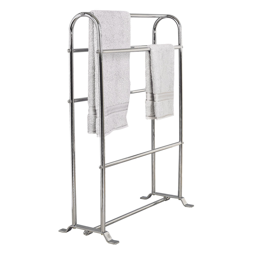 Miller - Classic Freestanding Towel Horse - 646C Large Image