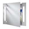 Searchlight Illuminated Bathroom Mirror Cabinet with Shaver Socket - 6560 profile small image view 1