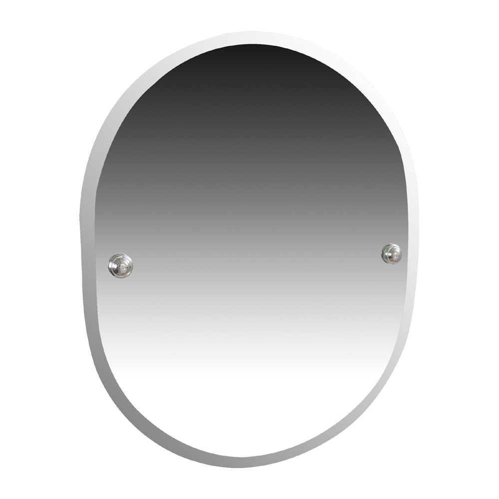 Miller - Richmond 410 x 500mm Bevelled Mirror - 6600C Large Image