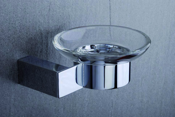 Tre Mercati - Edge Wall Mounted Soap Dish - 66510 Large Image