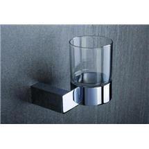 Tre Mercati - Edge Wall Mounted Glass Holder - 66520 Medium Image