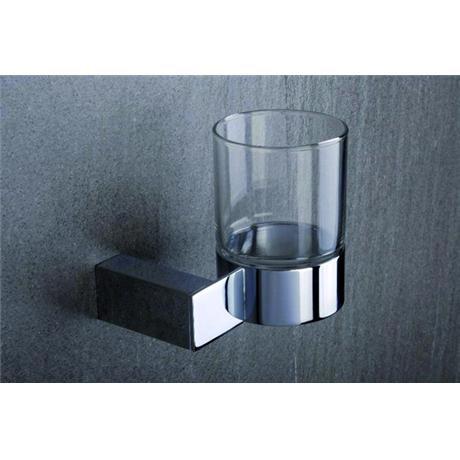 Tre Mercati - Edge Wall Mounted Glass Holder - 66520