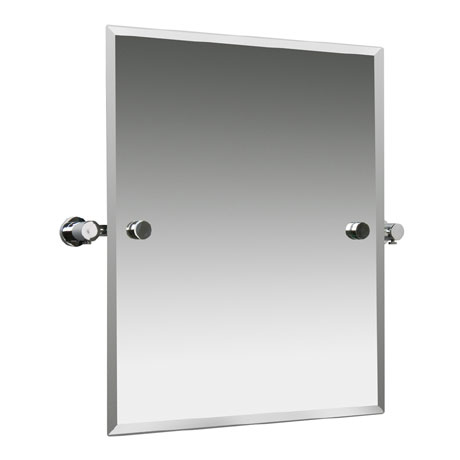 Miller - Montana 420 x 500mm Bevelled Swivel Mirror - 6741C