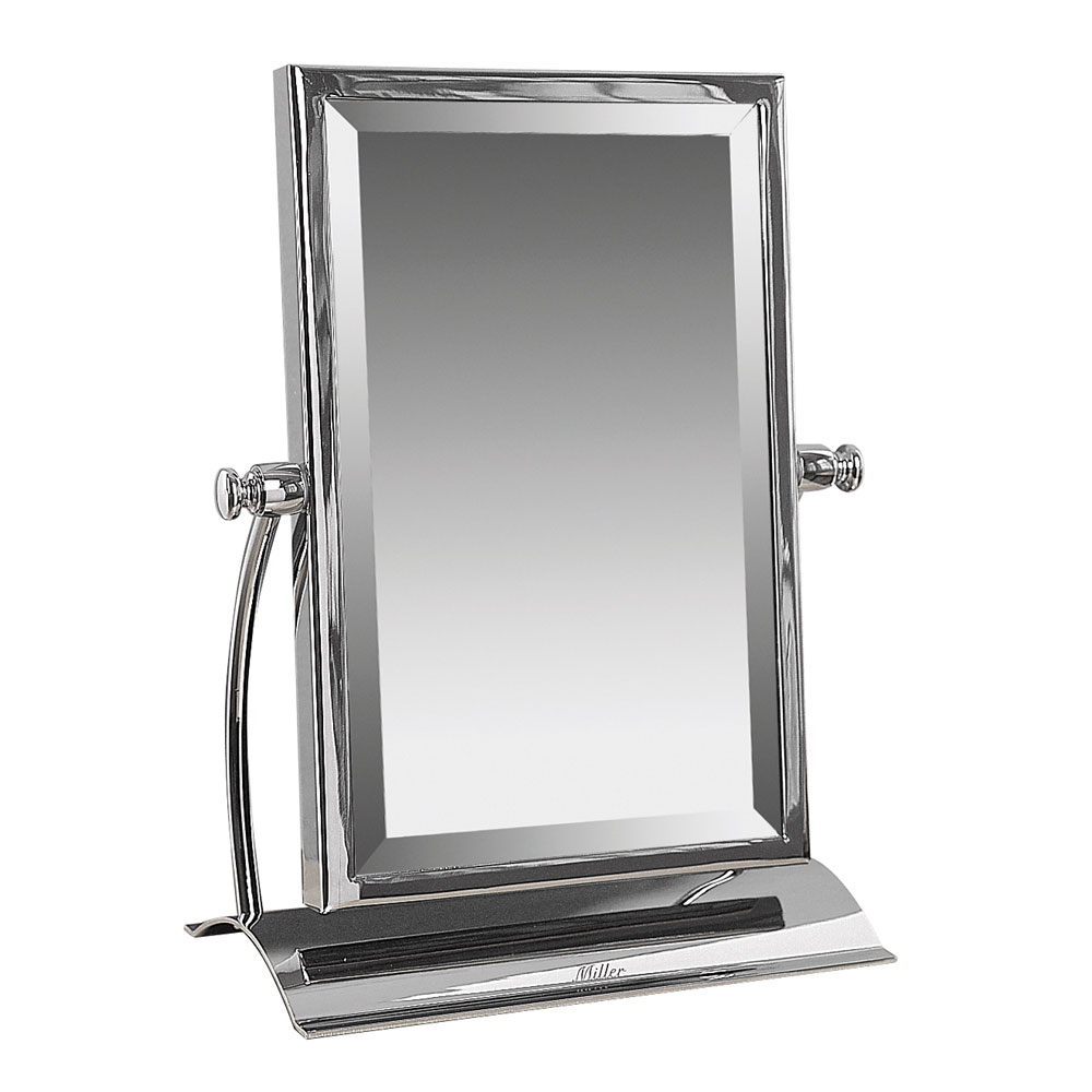 Miller Classic Bevelled Table Mirror | Now At Victorian Plumbing.co.uk