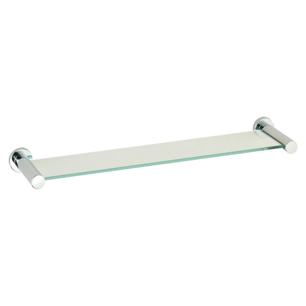 Roper Rhodes Minima Toughened Clear Glass Shelf - 6912.02 Large Image