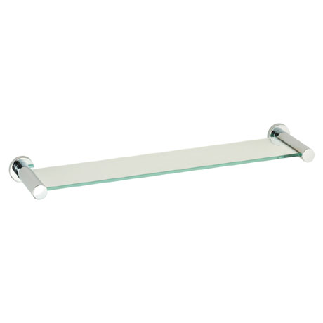Roper Rhodes Minima Toughened Clear Glass Shelf - 6912.02