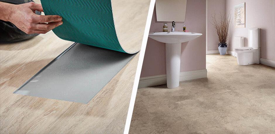 7 Benefits Of Bathroom Vinyl Flooring, Is Vinyl Plank Flooring Good In Bathrooms