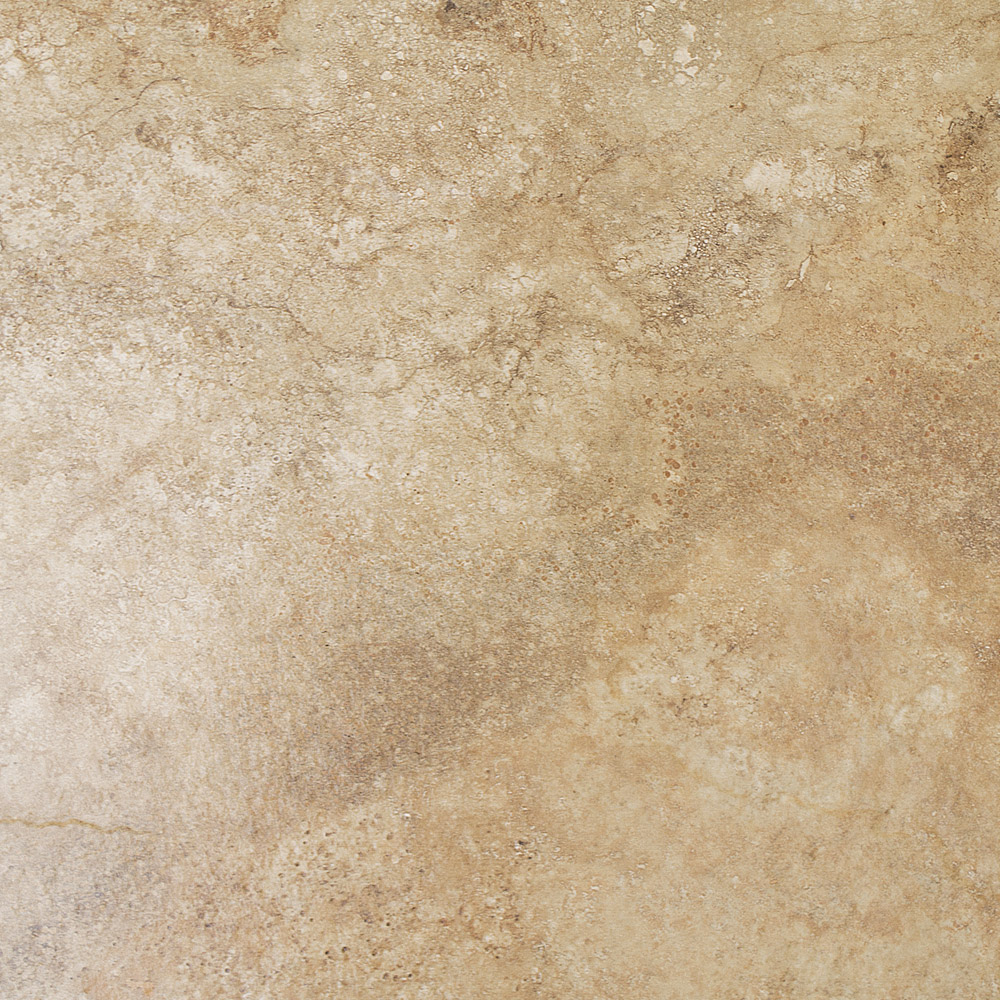 Salerno Noce Travertine Effect Floor Tiles - 450mm x 450mm Large Image