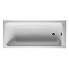 Duravit D-Code Single Ended Bath + Support Feet profile small image view 1