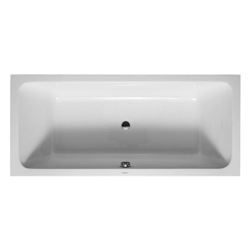 Duravit D-Code 1800 x 800mm Double Ended Bath + Support Feet