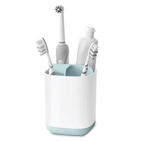 Joseph Joseph Easy-Store Toothbrush Caddy - White/Blue - 70500