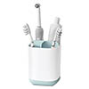 Joseph Joseph Easy-Store Toothbrush Caddy - White/Blue - 70500 Medium Image