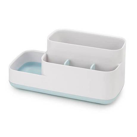 Joseph Joseph Easy-Store Bathroom Caddy - White/Blue - 70504