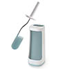 Joseph Joseph Flex Plus Smart Toilet Brush & Holder with Storage Caddy - White/Blue - 70507 profile small image view 1