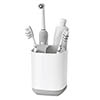 Joseph Joseph Easy-Store Toothbrush Caddy - White/Grey - 70509 Small Image
