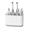 Joseph Joseph Easy-Store Large Toothbrush Caddy - White/Grey - 70510 profile small image view 1
