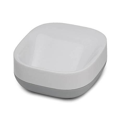 Joseph Joseph Slim Compact Soap Dish - White/Grey - 70511