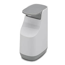 Joseph Joseph Slim Compact Soap Dispenser - White/Grey - 70512 Medium Image