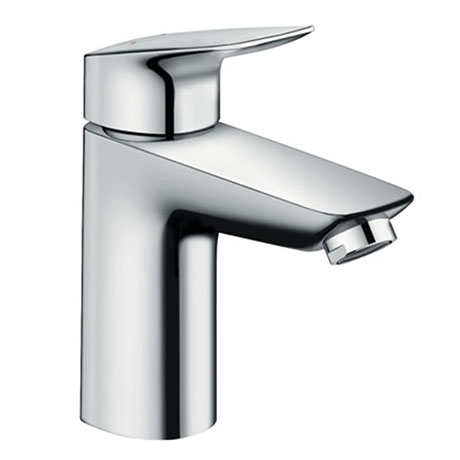 Hansgrohe MyCube Single Lever Basin Mixer L 100 Tap with Pop Up Waste - 71011000