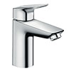 hansgrohe MyCube Single Lever Basin Mixer L 100 Tap with Pop Up Waste - 71011000 profile small image view 1