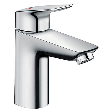 Hansgrohe MyCube CoolStart Single Lever Basin Mixer L Tap with Pop-up Waste - 71016000