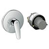 Hansgrohe Novus Concealed Shower Mixer Set - 71068000 profile small image view 1
